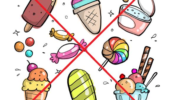 Süßigkeiten sind beim Intervallfasten hinderlich