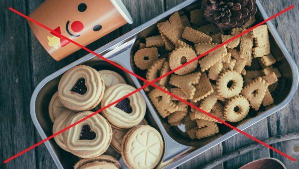 Snacks sind beim Intervallfasten hinderlich